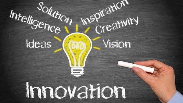innovation strategies chalkboard